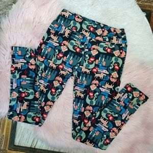 LuLaRoe Animal Leggings  One Size